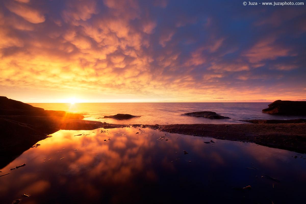 Sunrise reflected, 017,434...