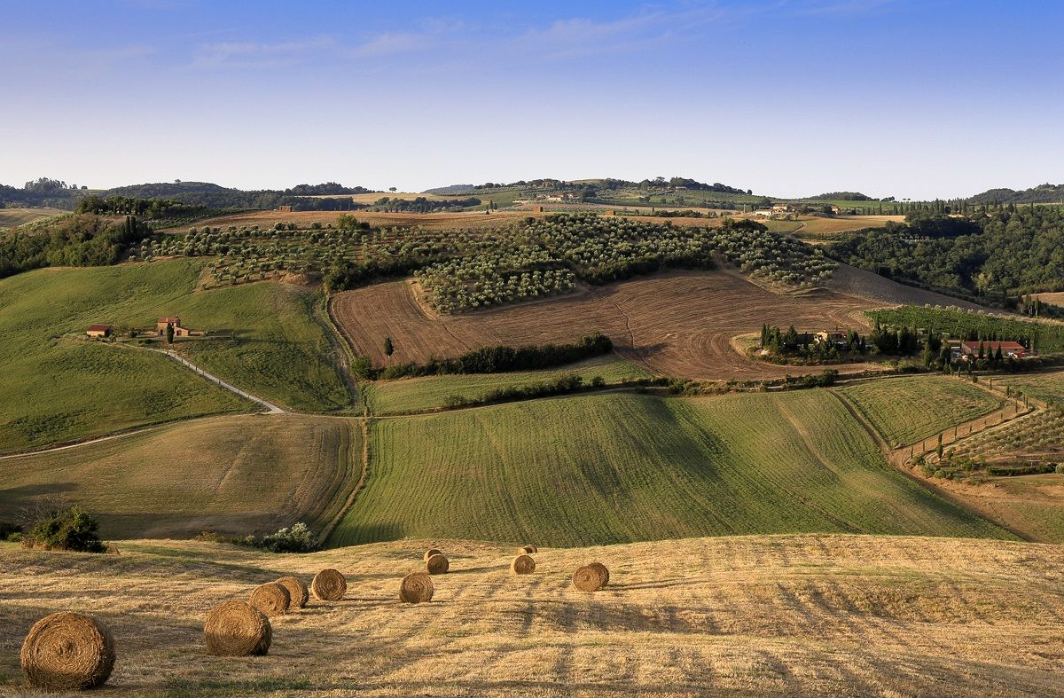 Turning ... (in the Val d'Orcia)...