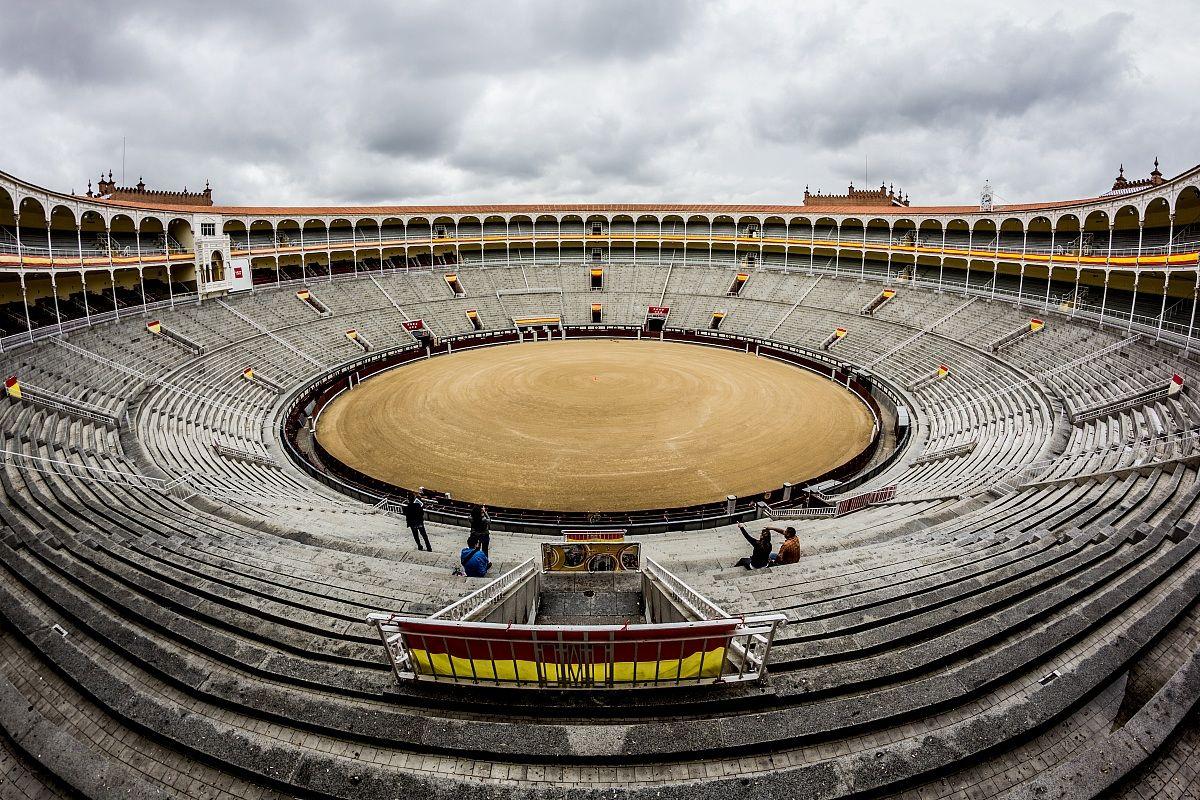 Plaza de toros...