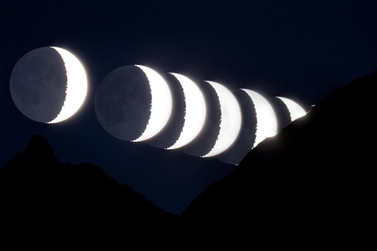 Sunset Moon...