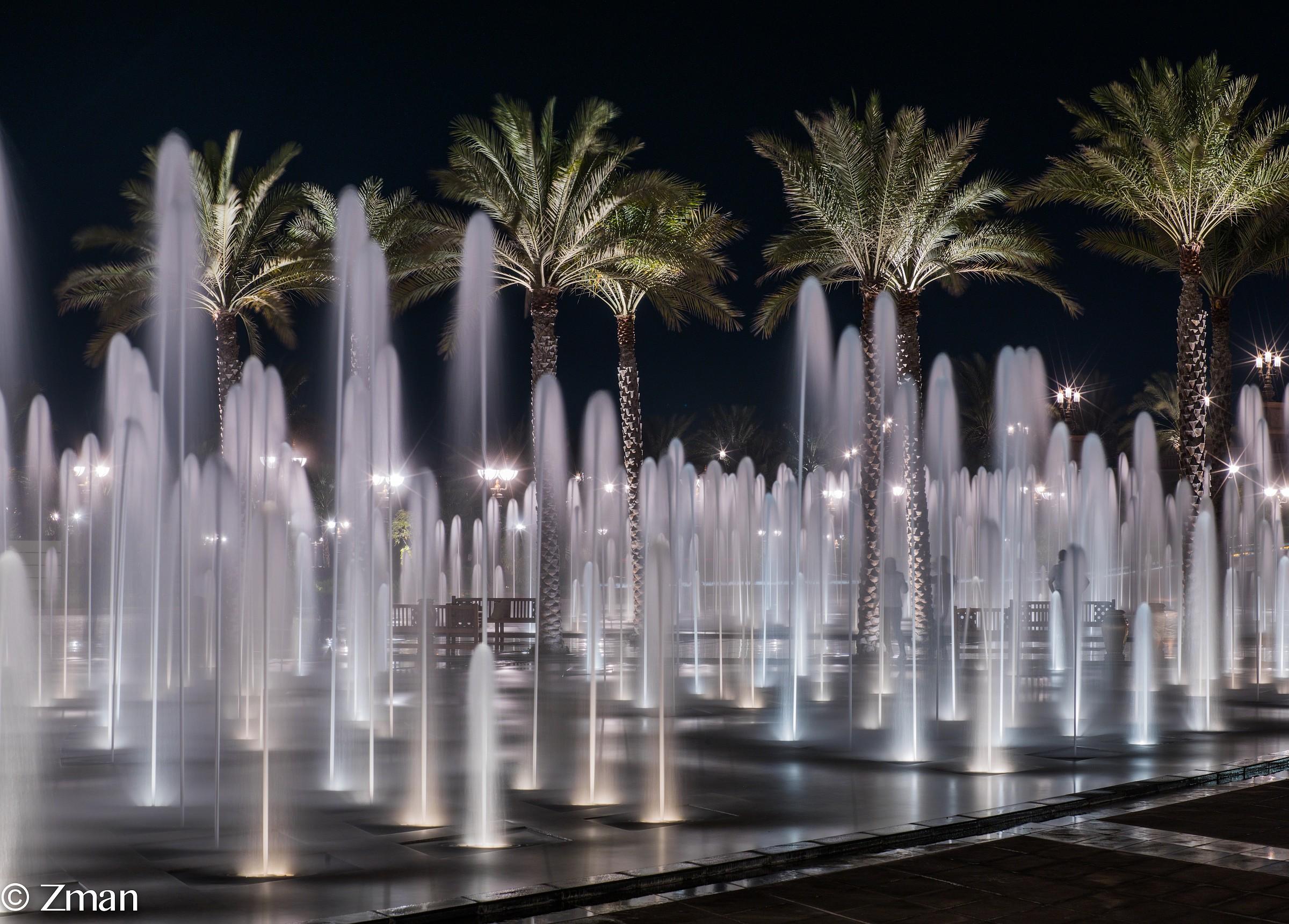 Fontana di acqua in La Conferenza Palace Hotel...