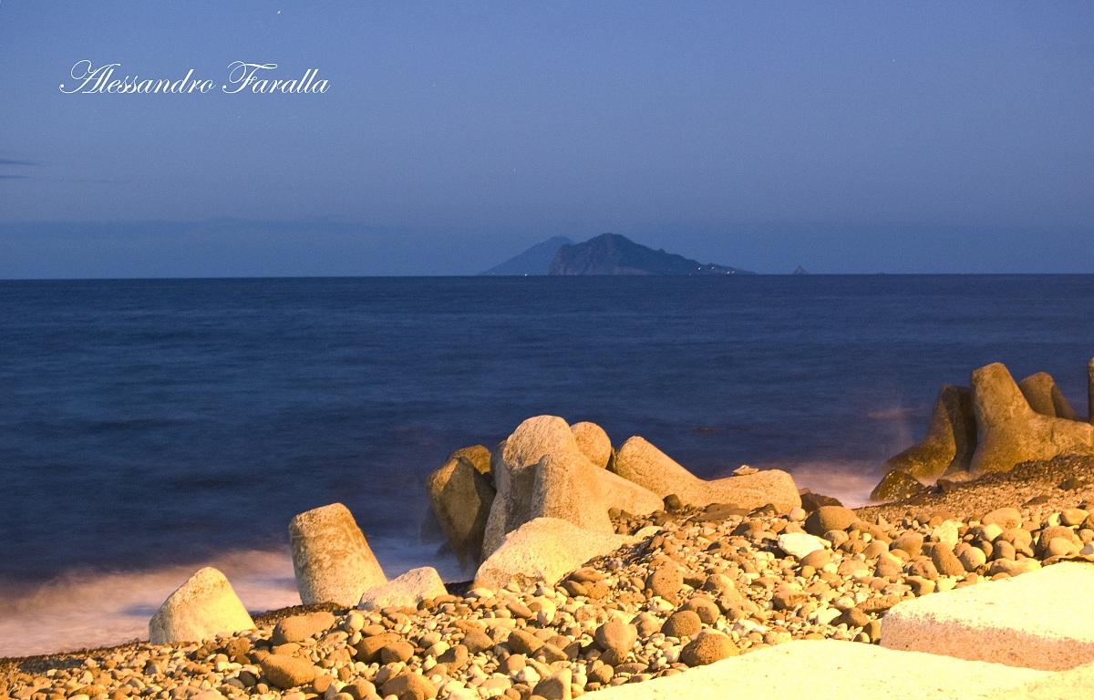 Panarea from Acquacalda...