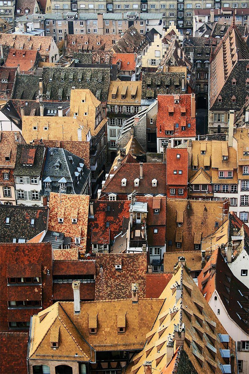 I Tetti di Strasburgo...