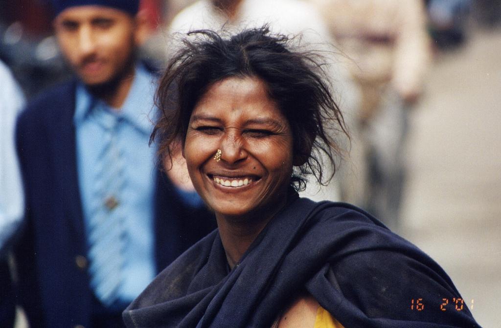 Sorriso in India...