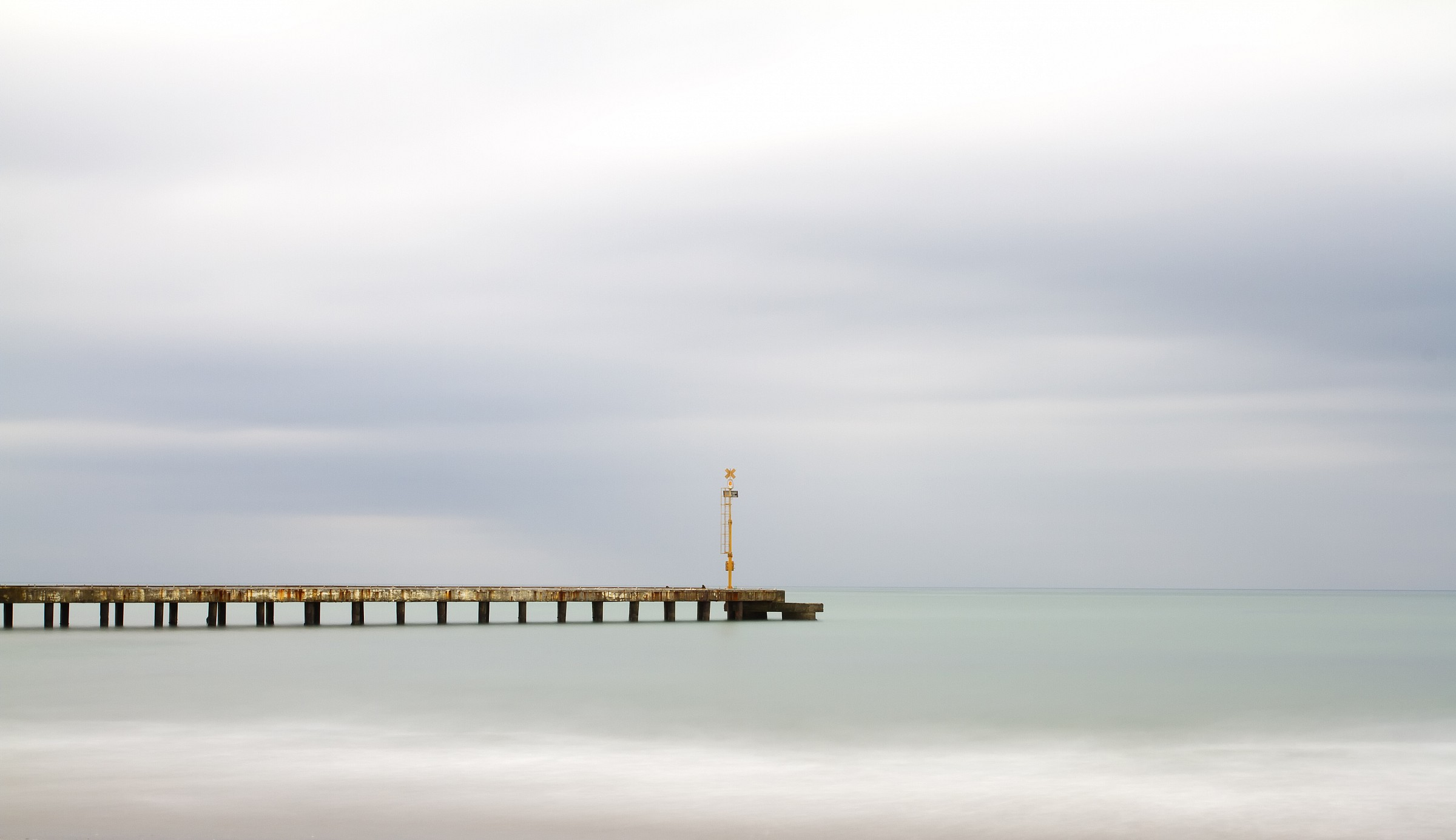 Only a pier...