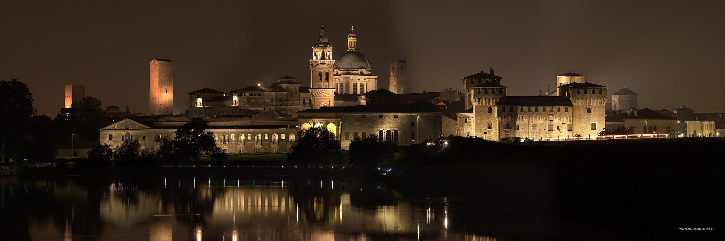 Mantua ... an hour before the earthquake...