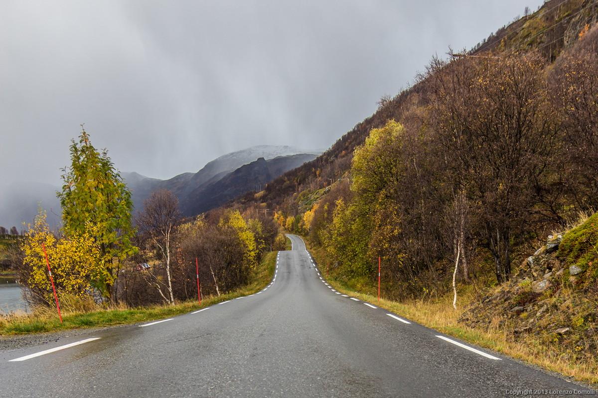 Strada norvegese...
