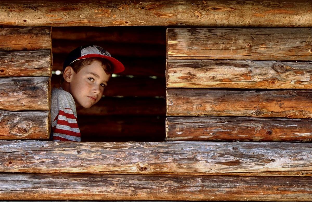 Mio figlio...qualche anno fa - 1993...