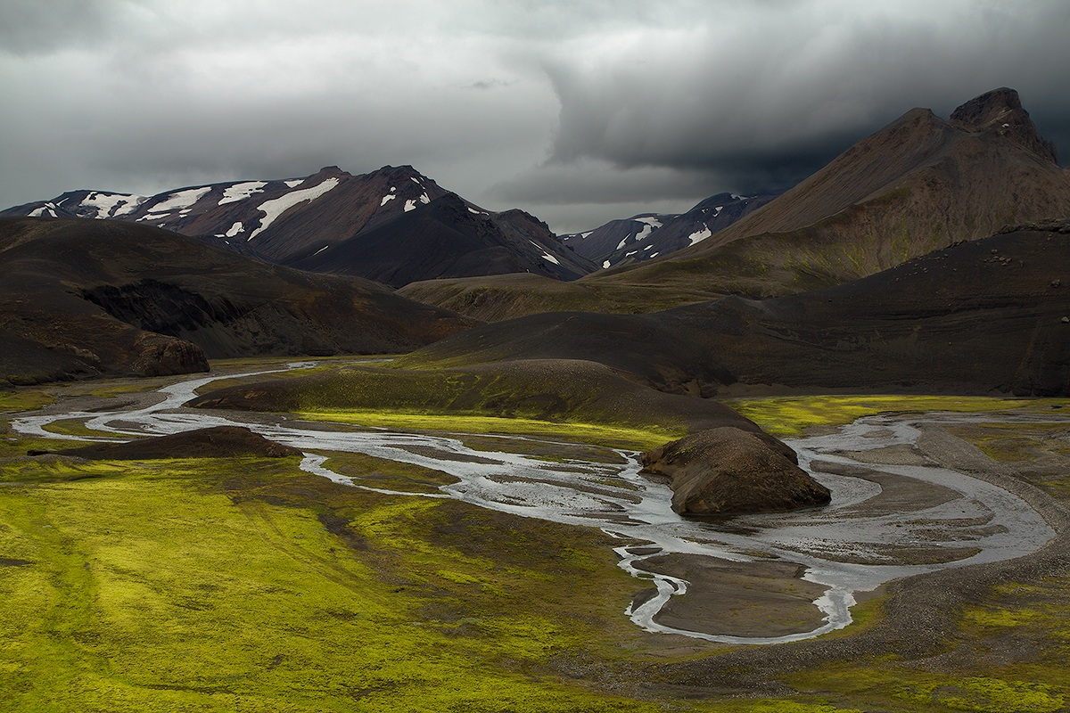 Road to Landmannalaugar...