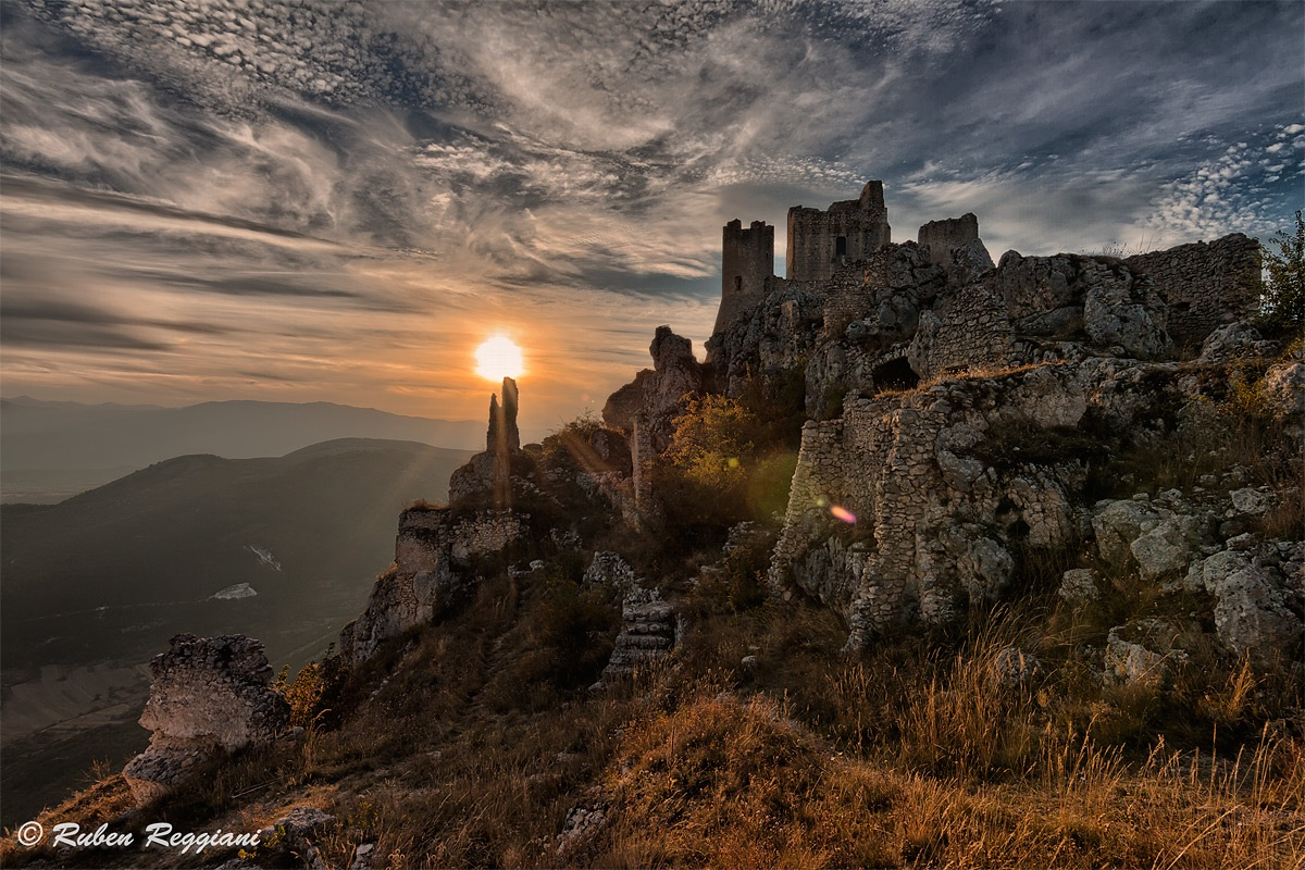 Sunset at Rocca di Calascio...