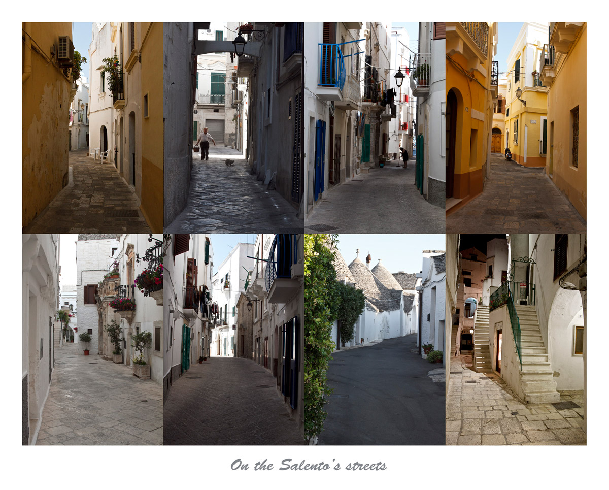 The streets of Salento...