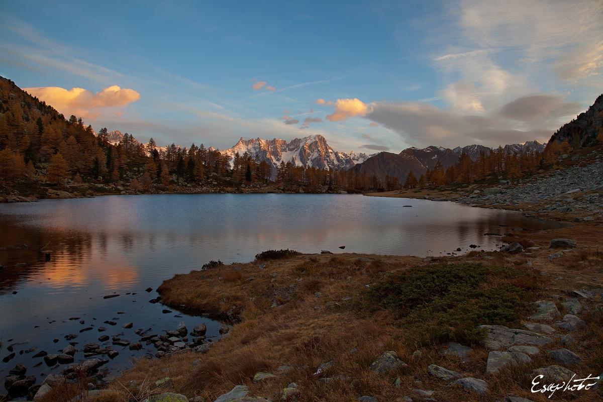 Un nuovo giorno al Lago d'Arpy...