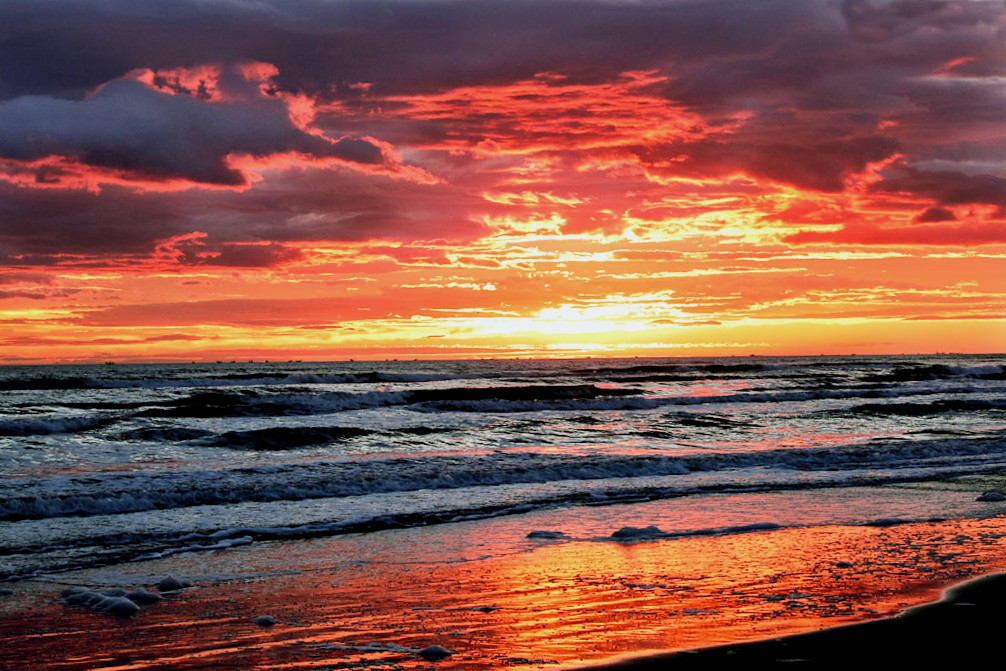 Una bellissima alba...