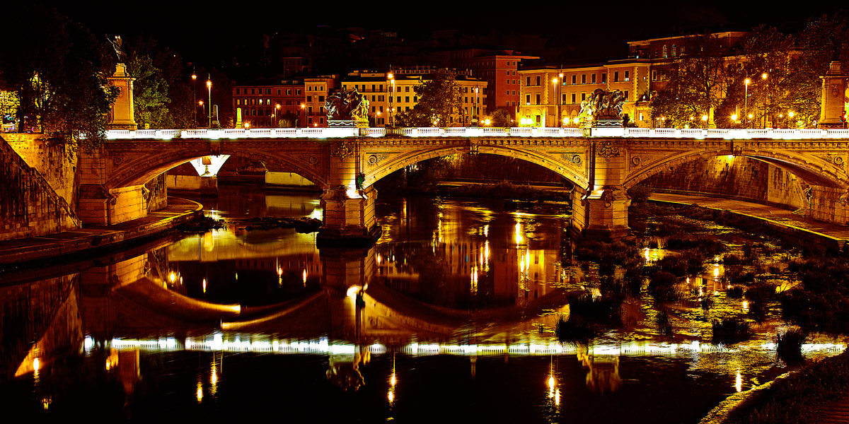 Rome - Tiber By Night...