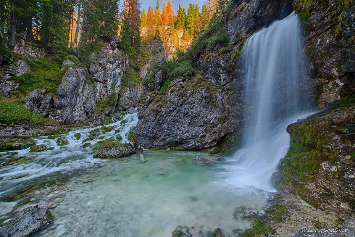 Cascata Alta di Vallesinella...