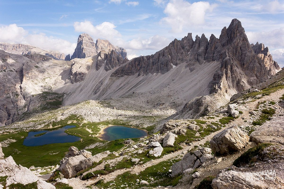 Monte Paterno Lakes and Plans...