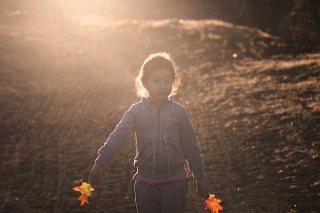 Passeggio al tramonto .....