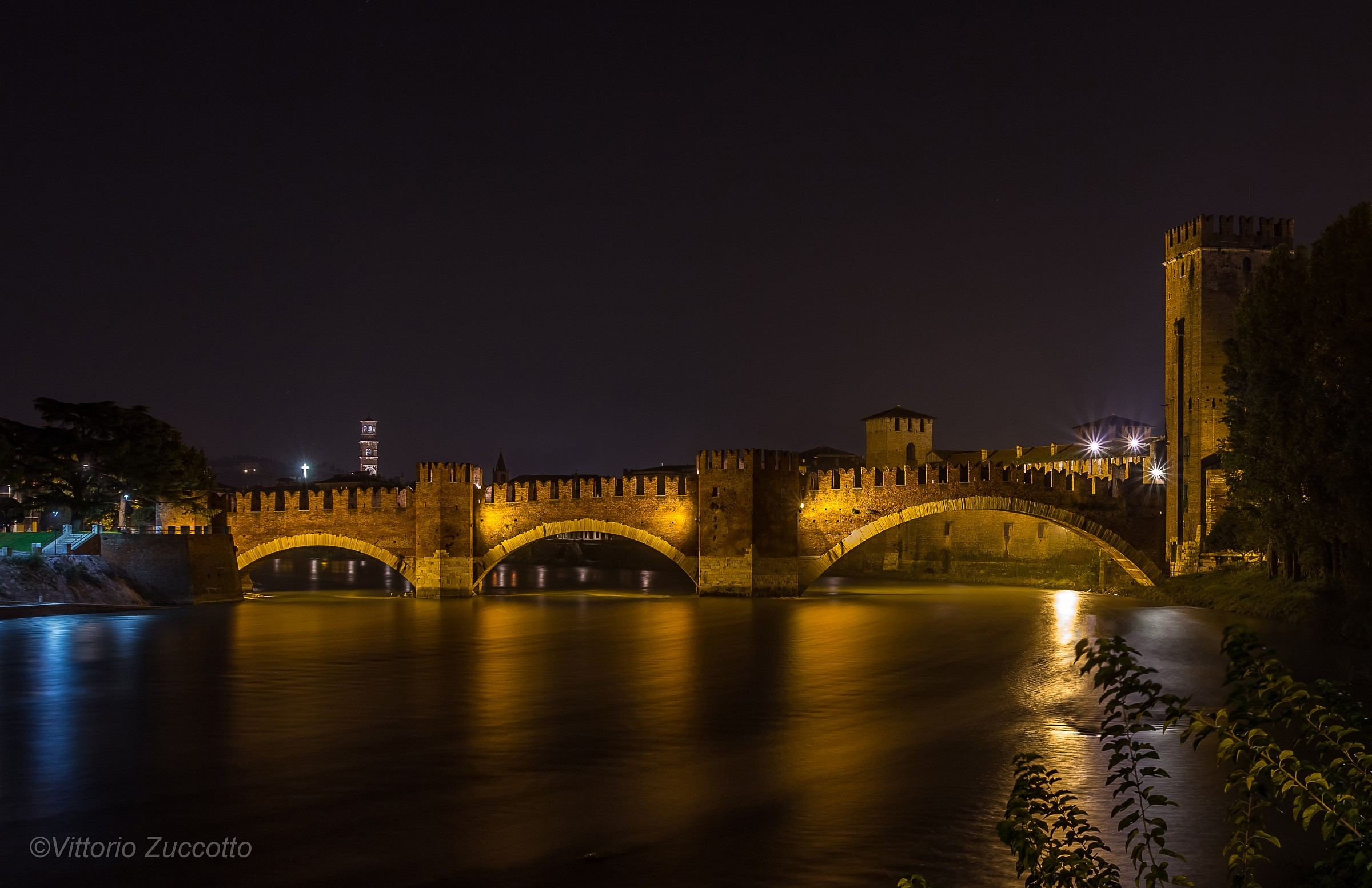 Castelvecchio Bridge...
