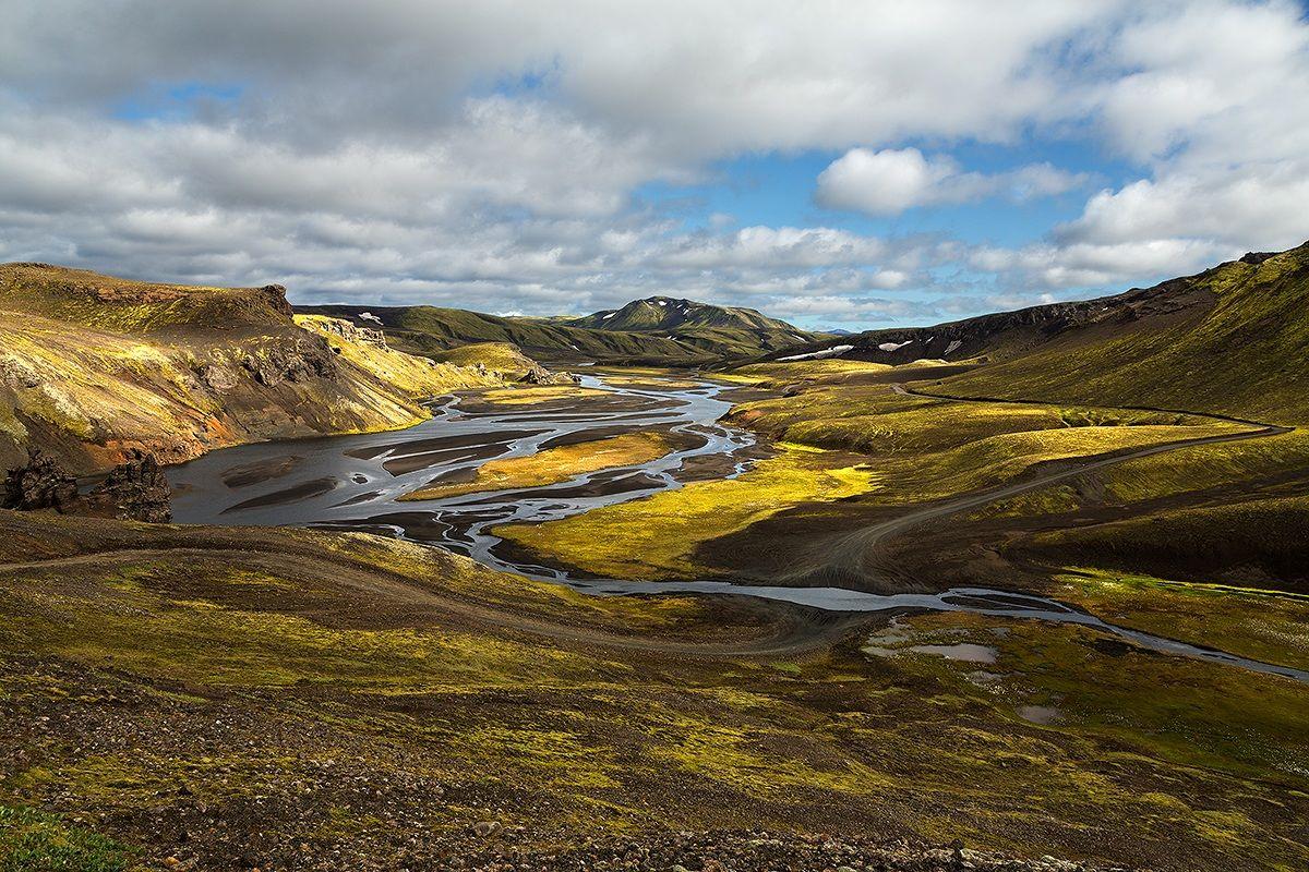 Return from Landmannalaugar...