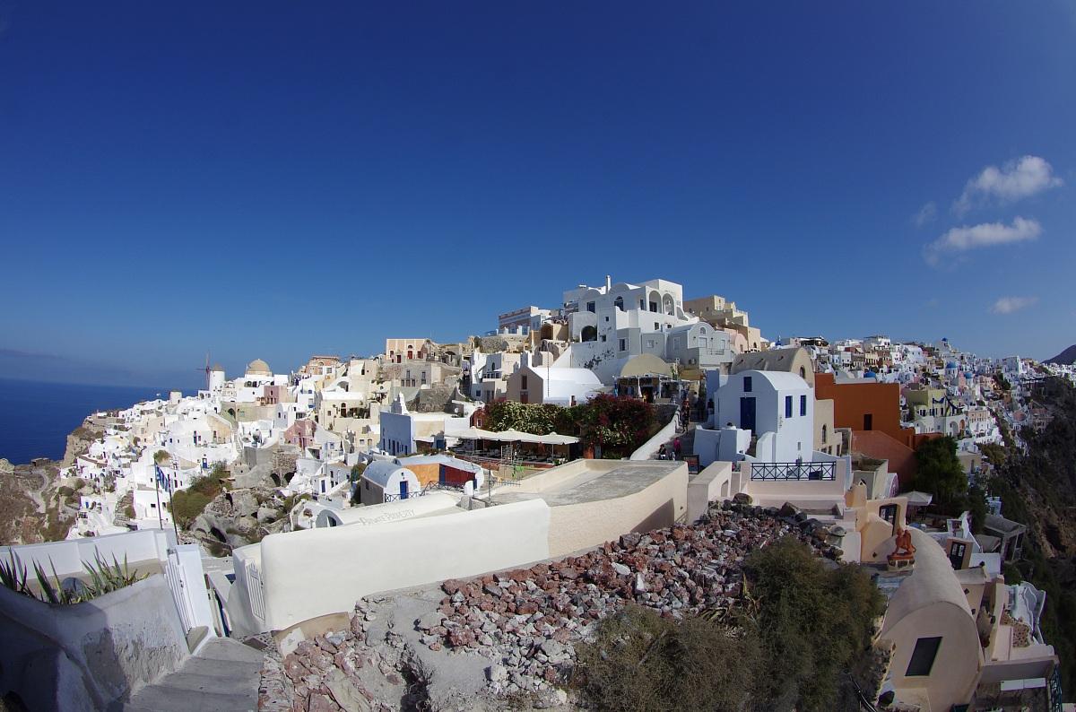 Oia  (Isola di Santorini)...