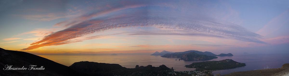 A sunset particular...