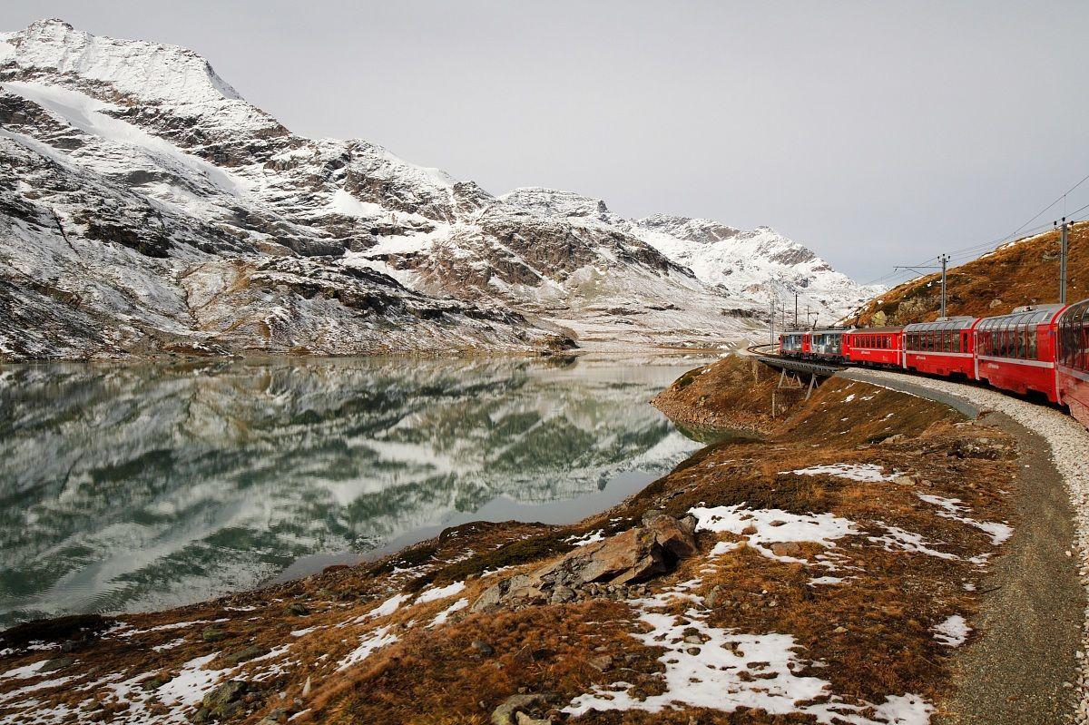 Trenino Rosso Del Bernina...