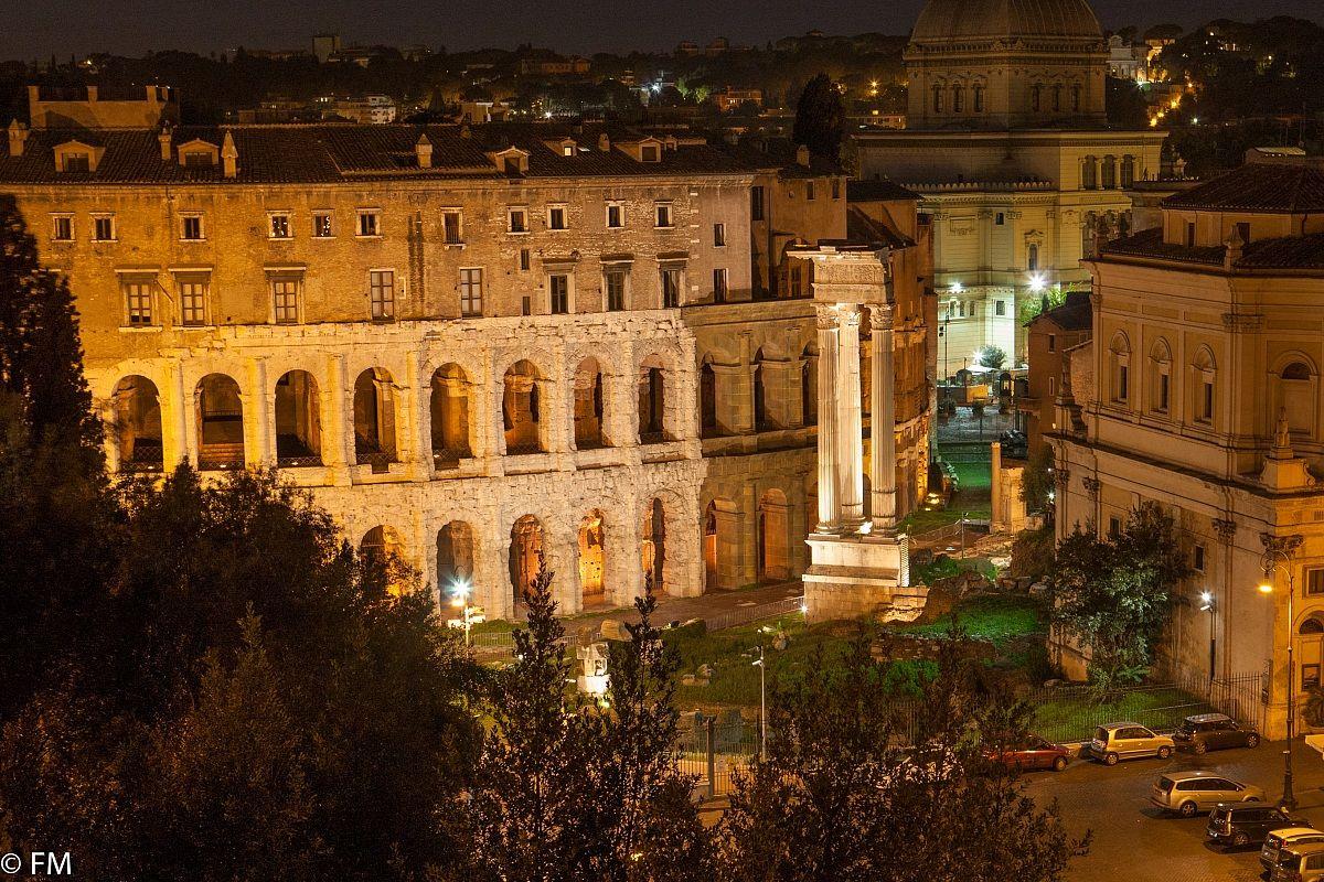 Roma di notte 1...