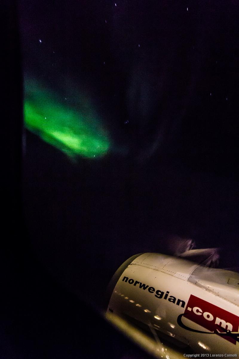 Aurora dal finestrino...