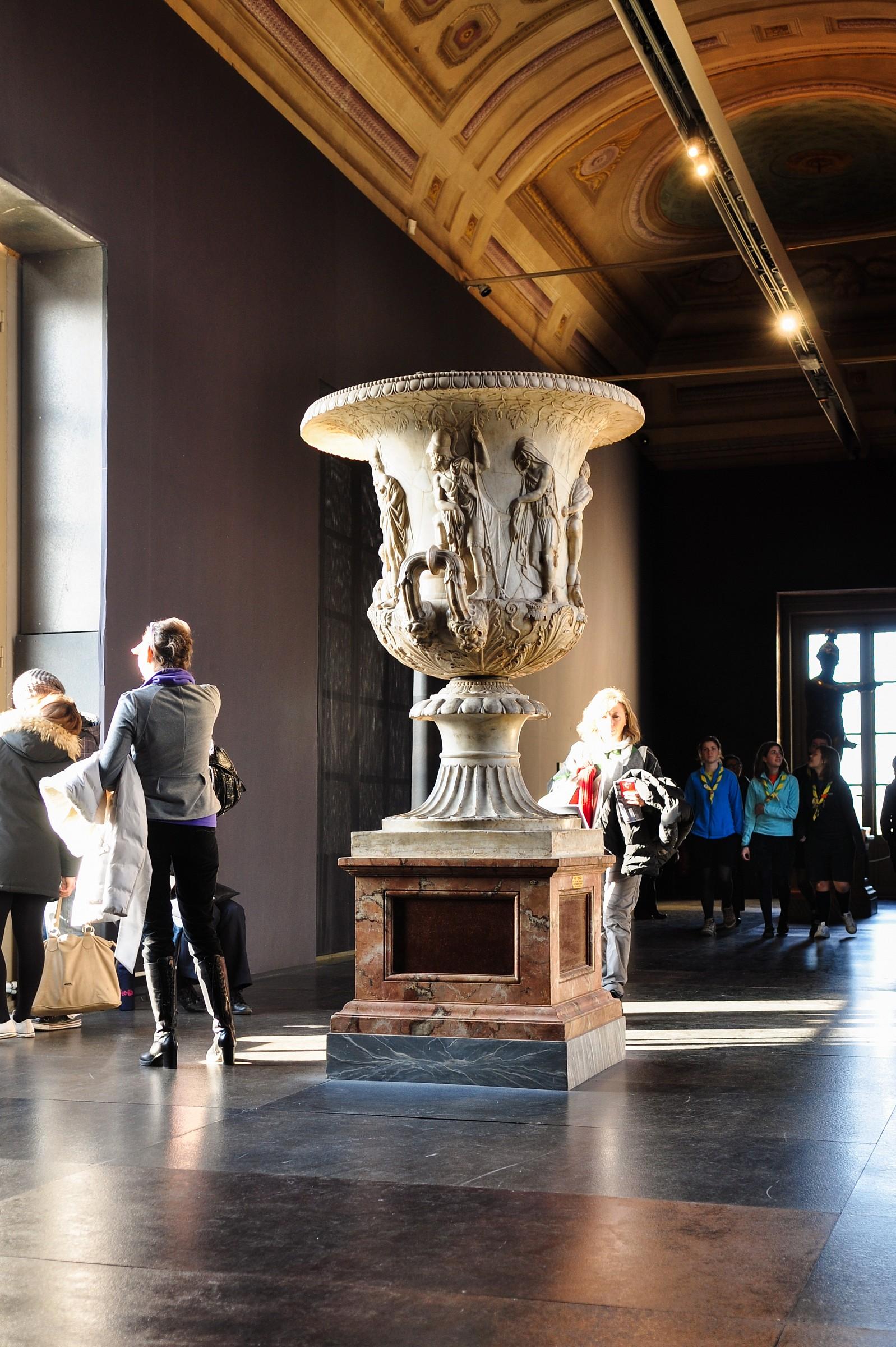 Dentro gli Uffizi...