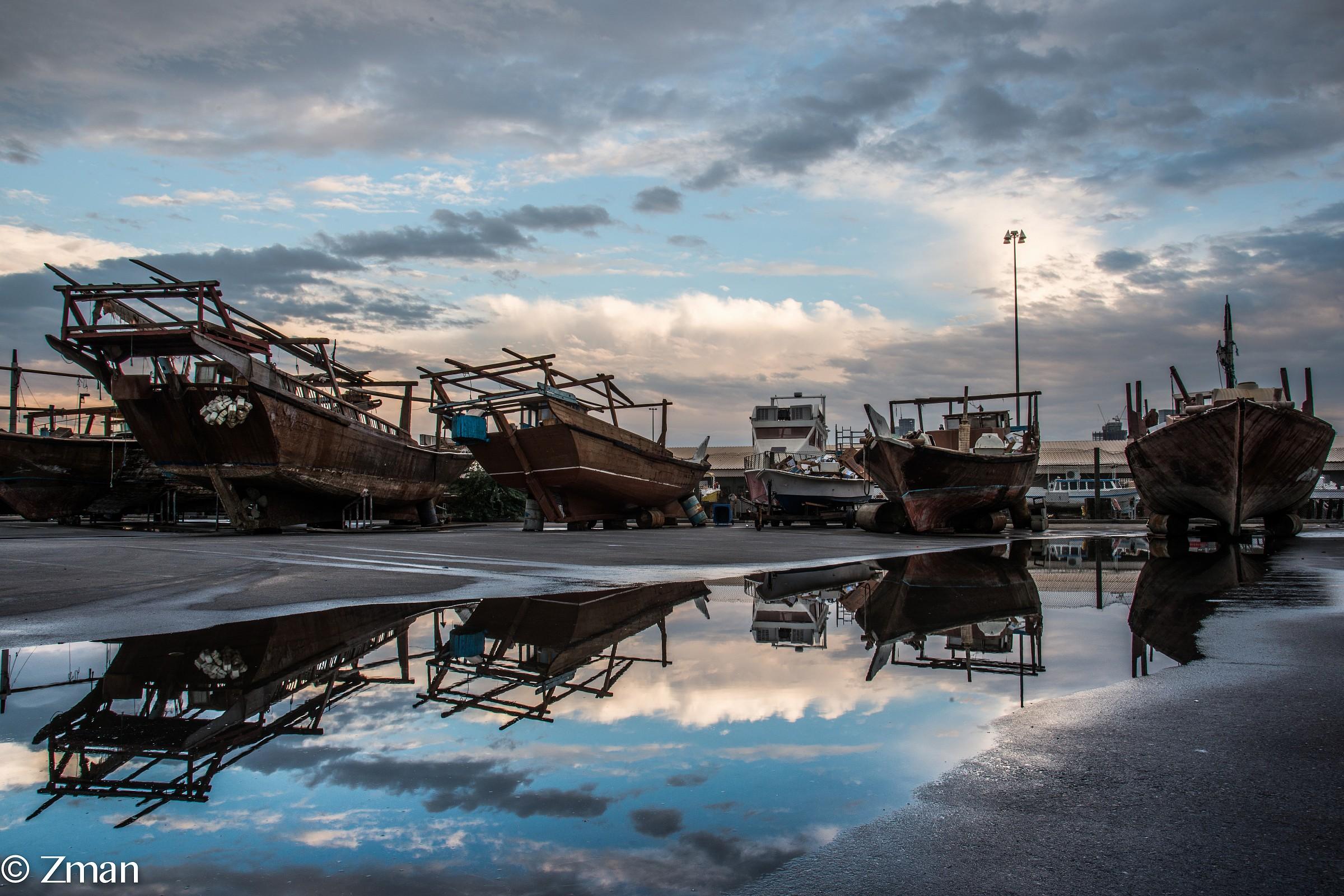 Boats waiting Repair Version 2...