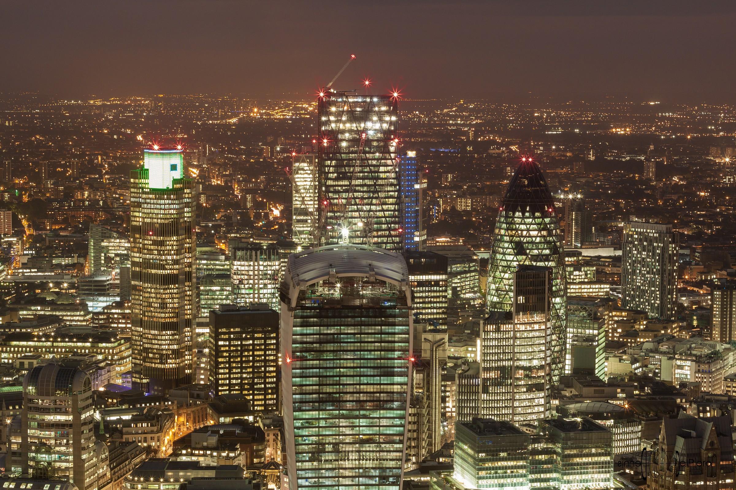 London - The City...