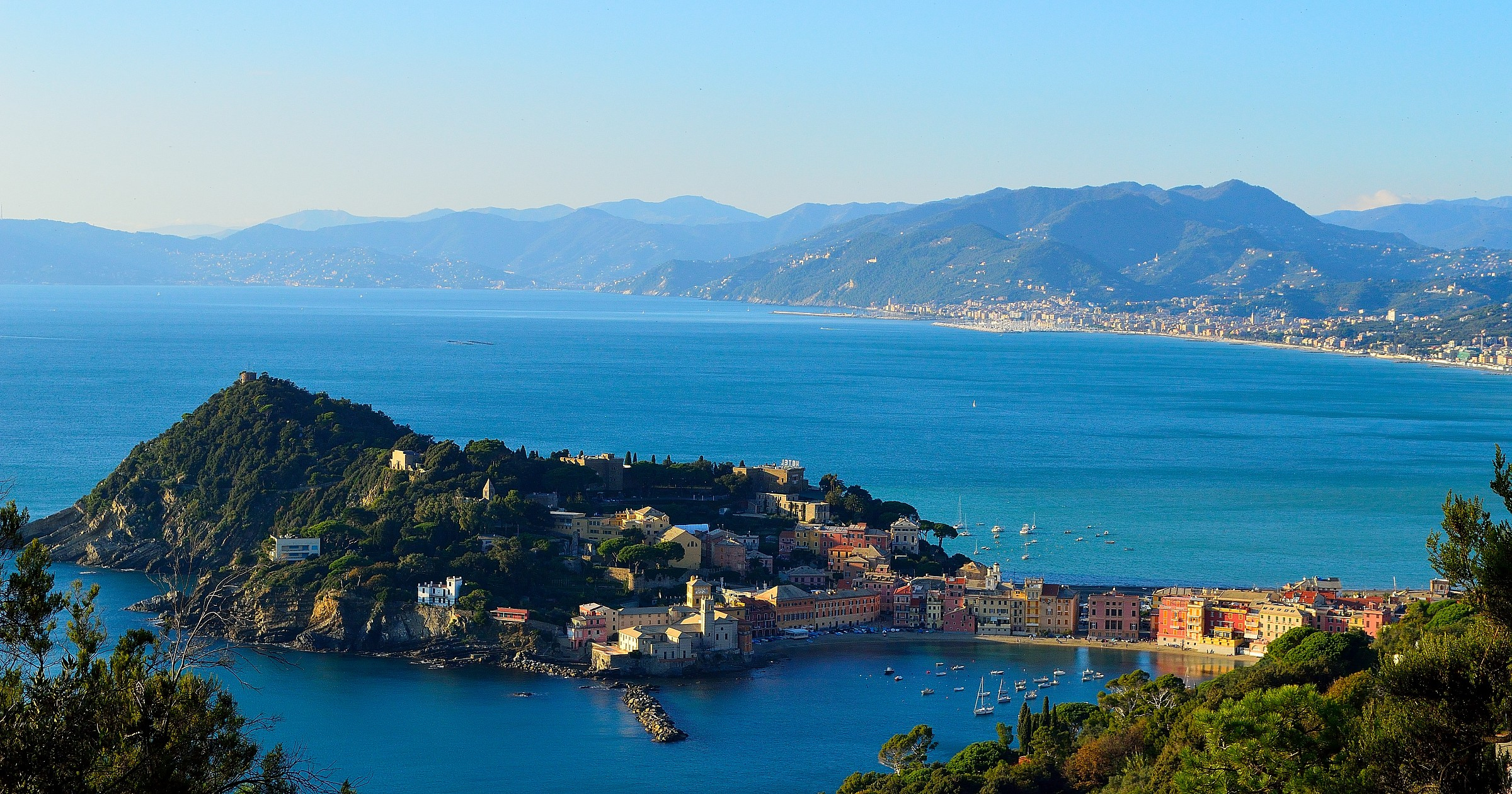 overview of Sestri...