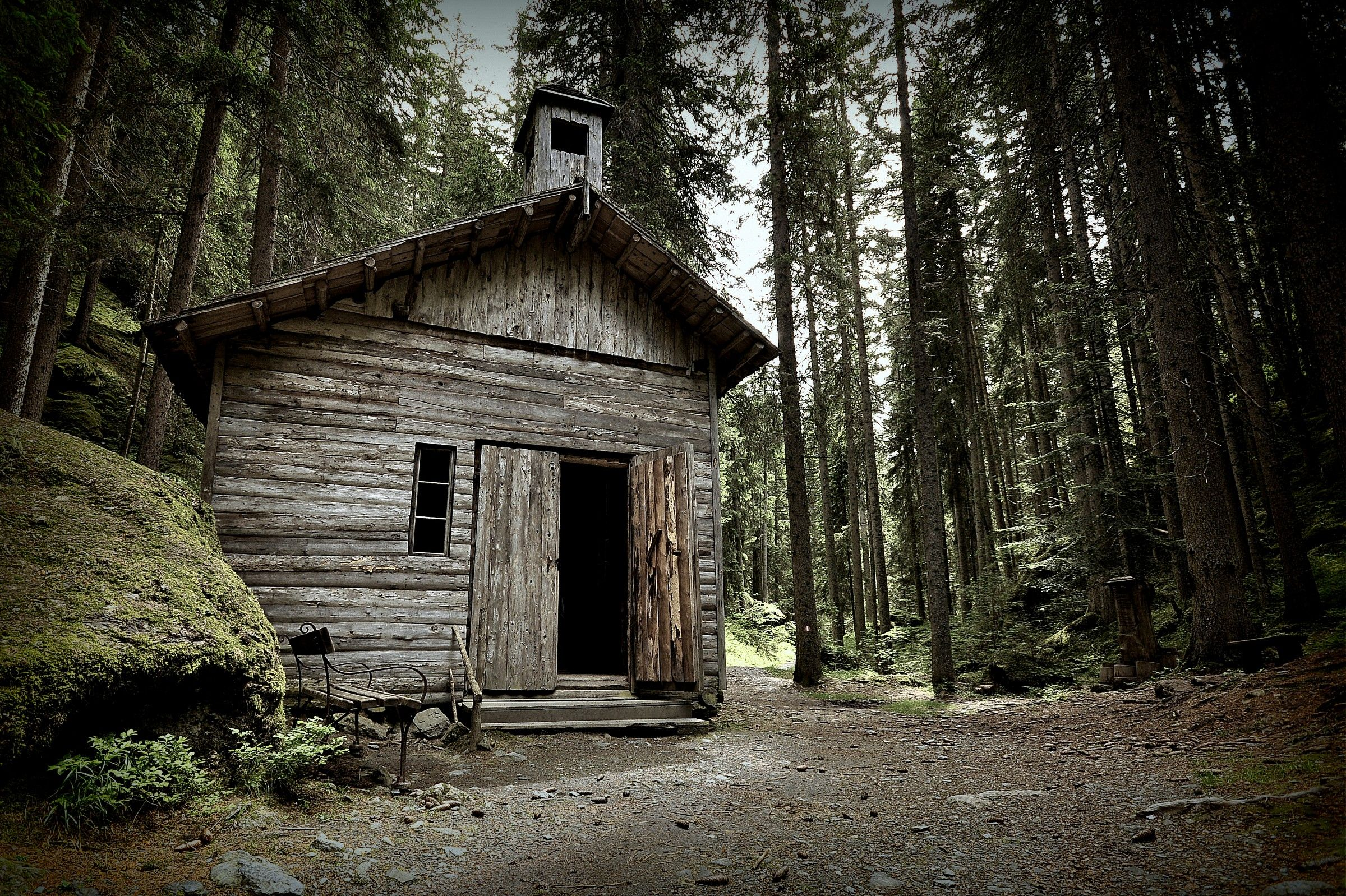 The house in the woods...