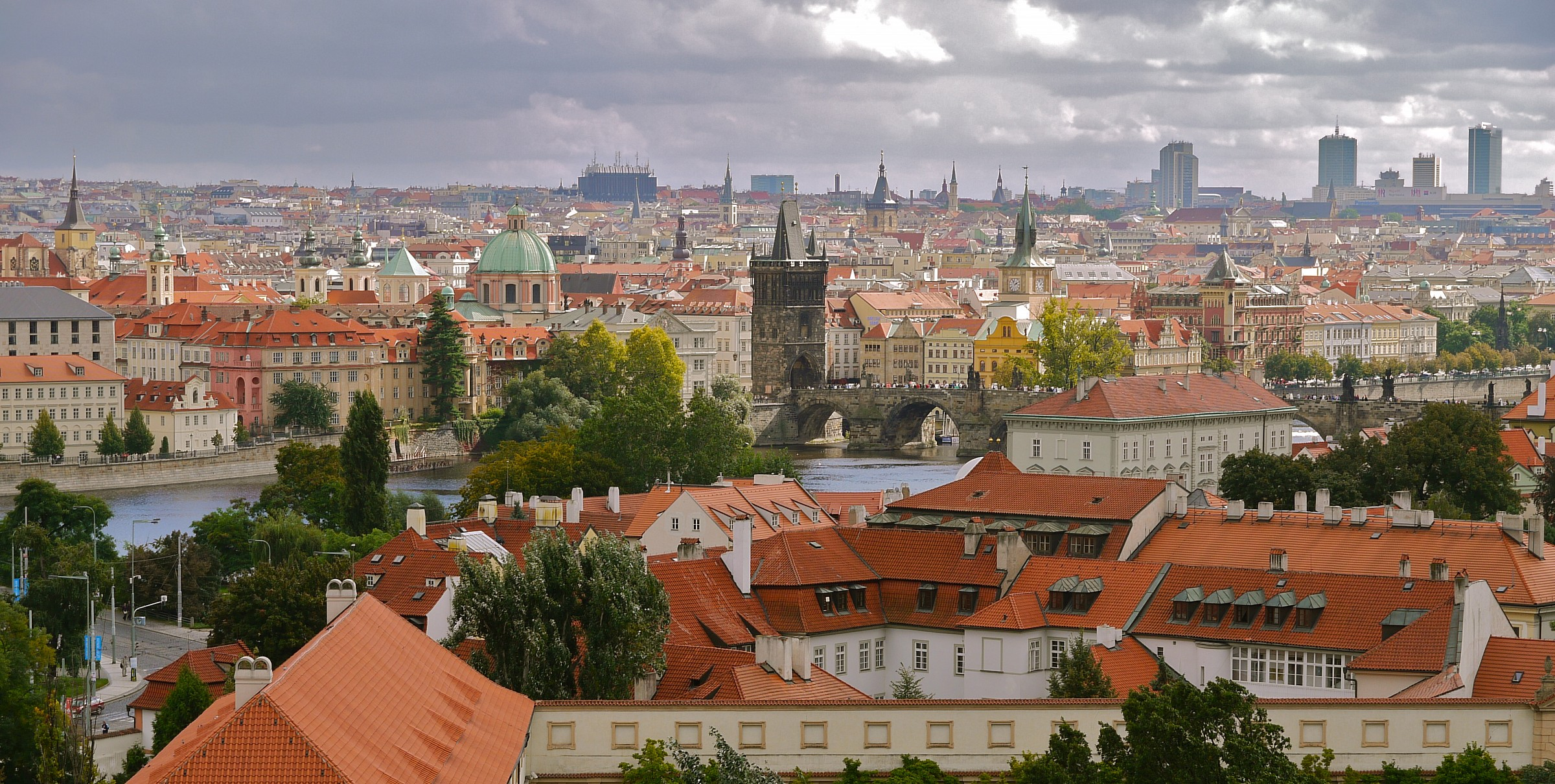 Roofs of Prague 1...