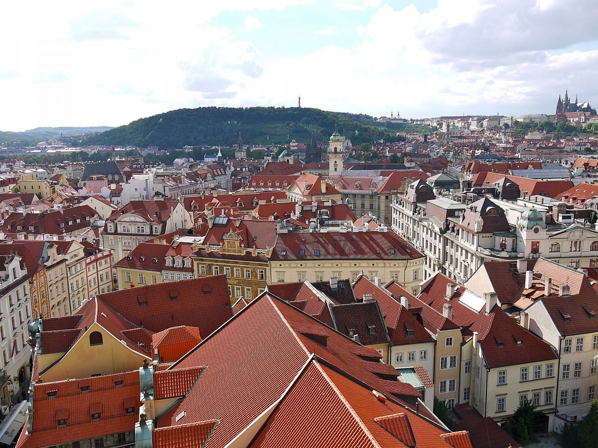 Roofs of Prague 3...