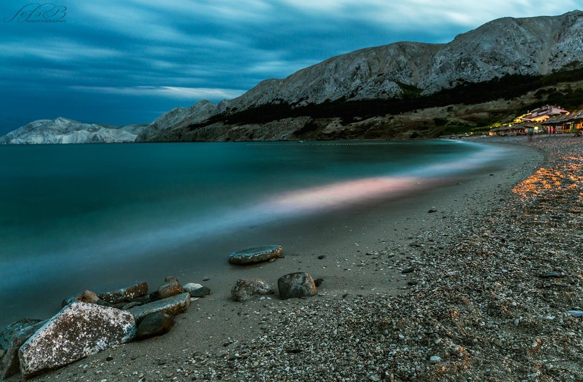 the beach in solitude...