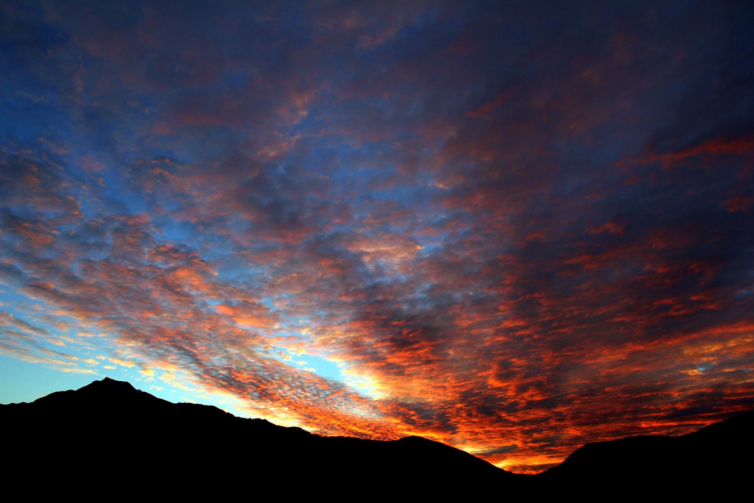 Amazing sunset on Trent...