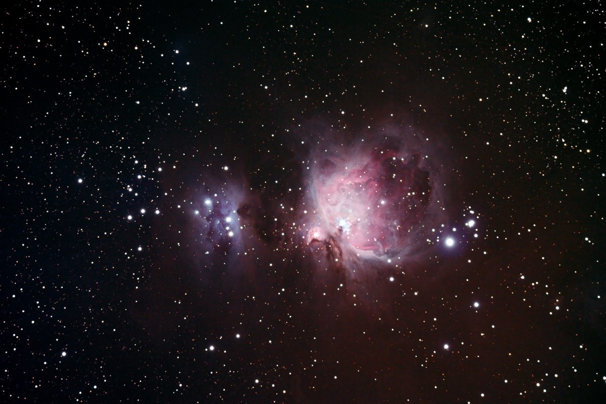 The Great Orion Nebula...