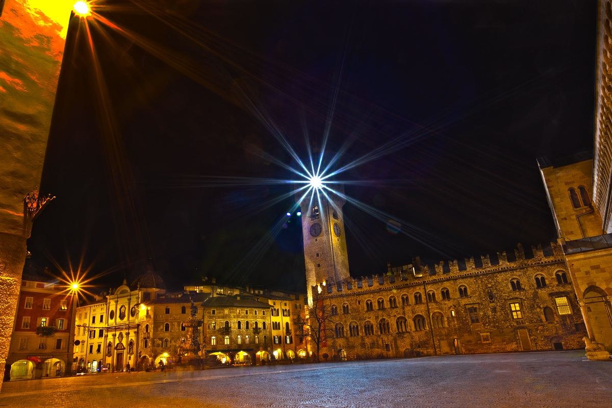 Trento in notturna...