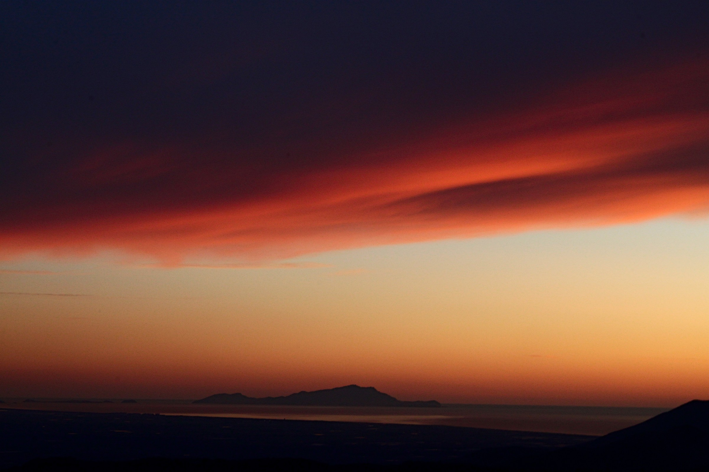 veil of sunset...
