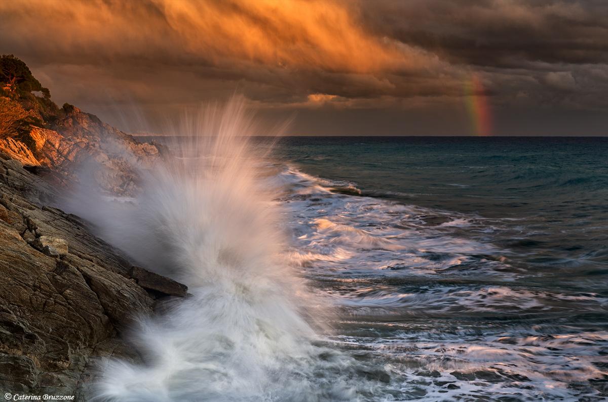 L'onda e l'arcobaleno...