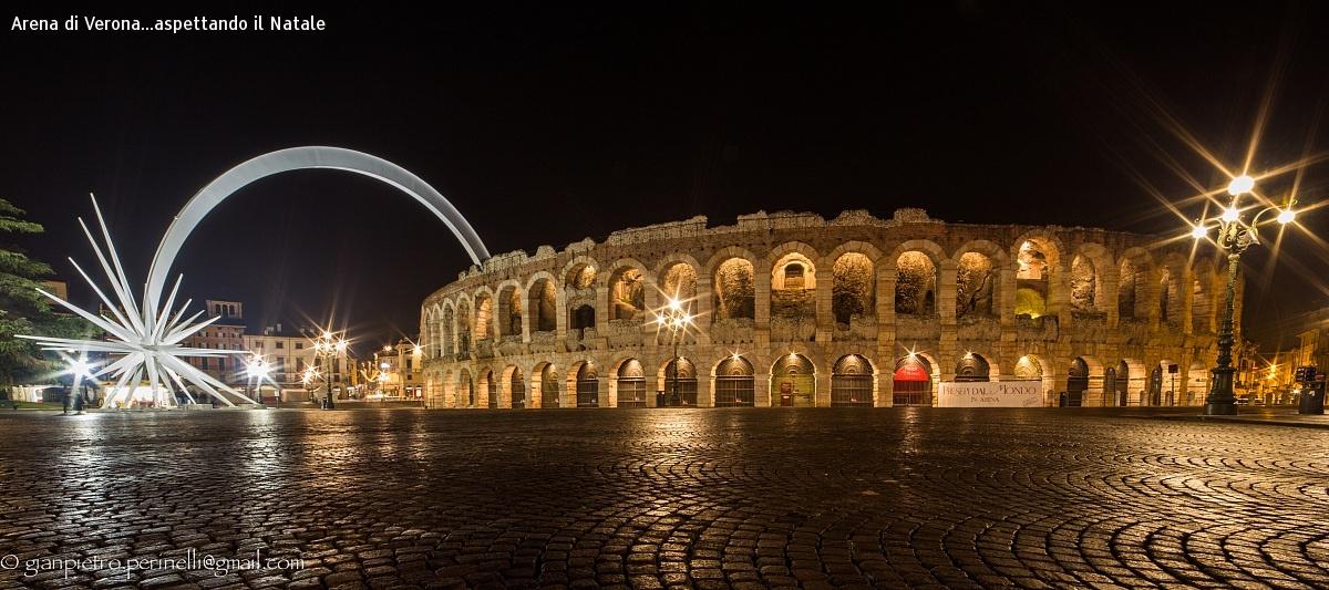 Arena di Verona...aspettando il Natale...