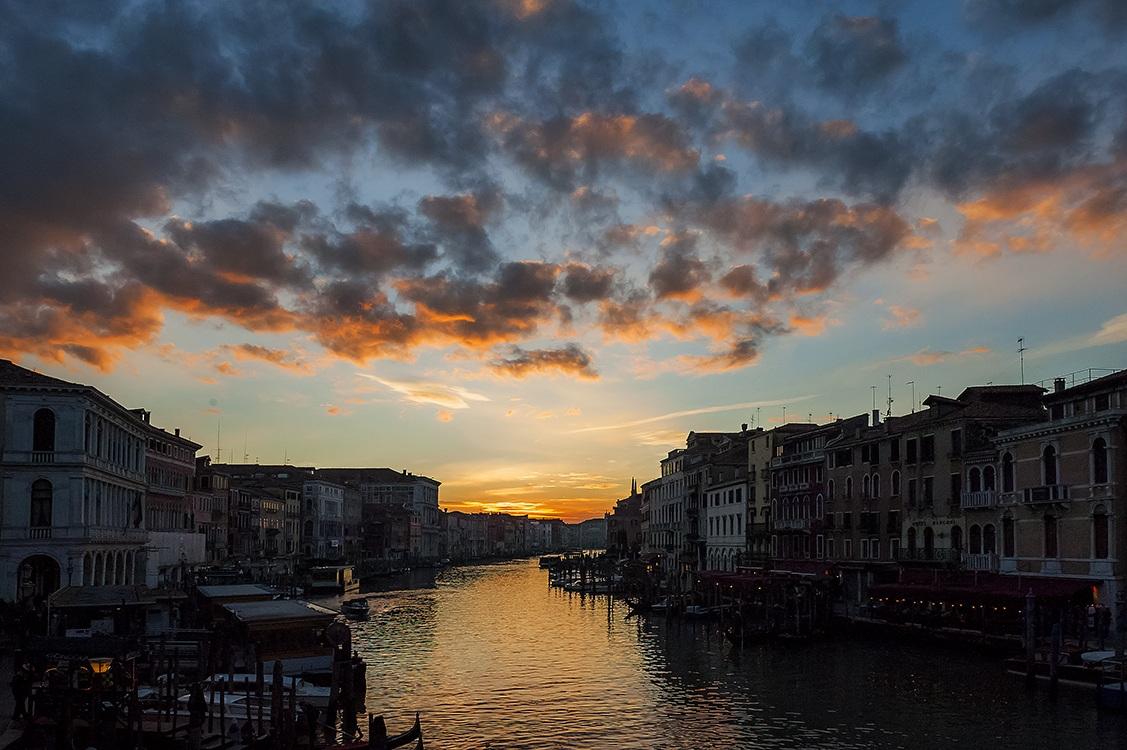 Canal Grande al Tramonto...