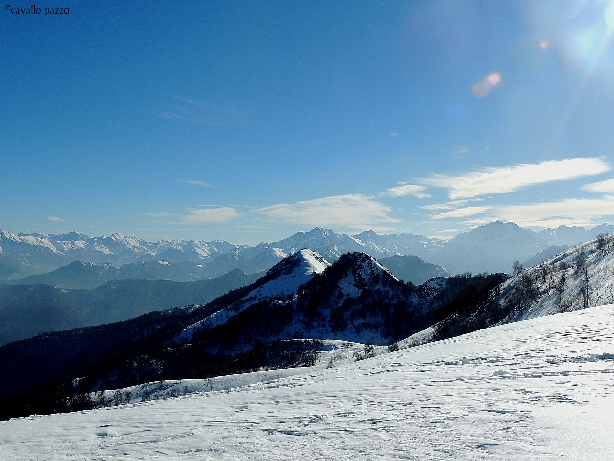 view of the Maritime Alps...