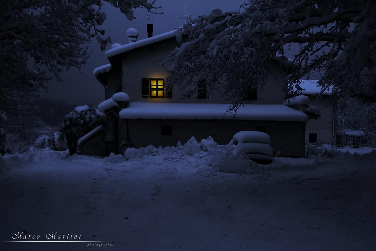 Silent night...