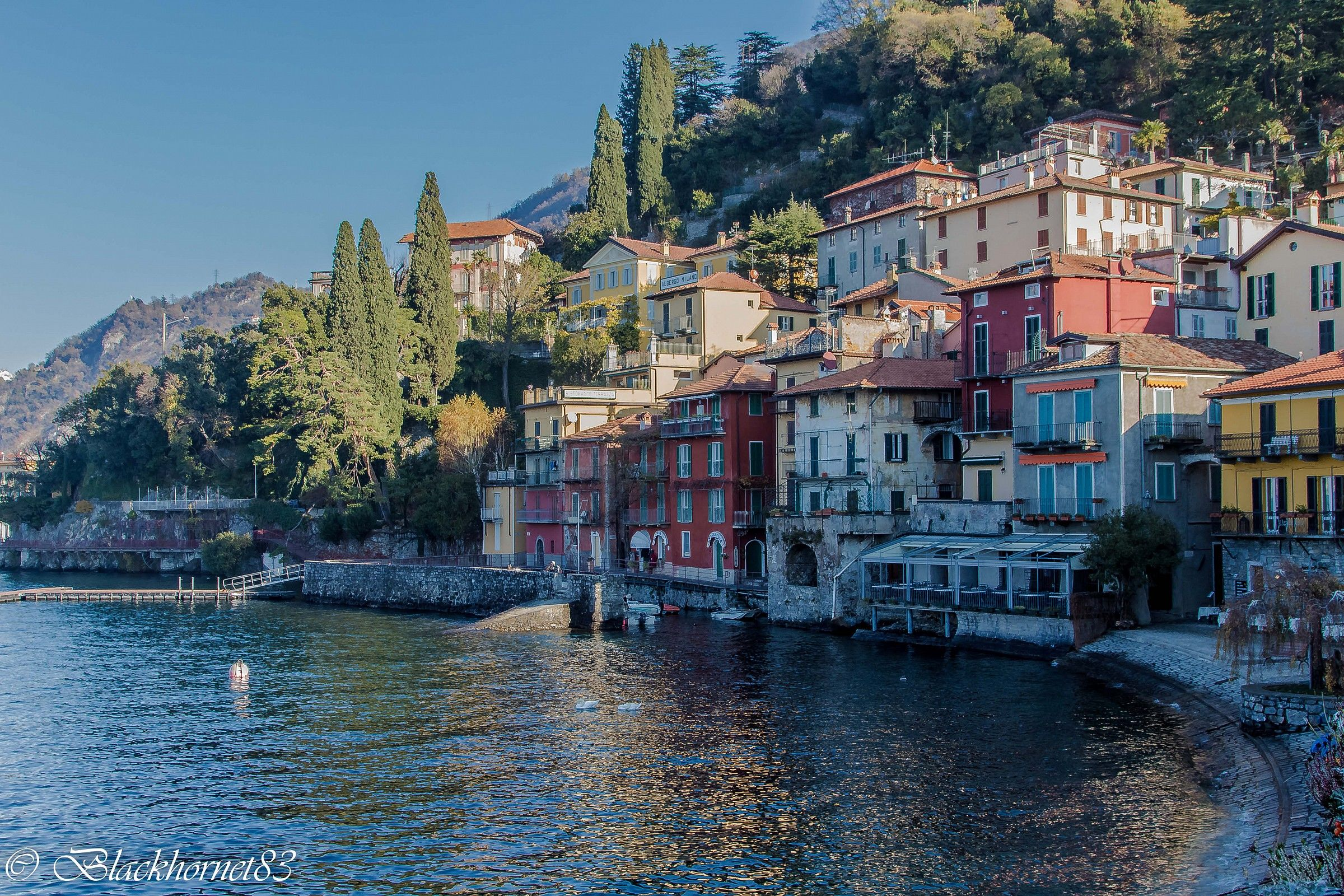 The many colors of Varenna...
