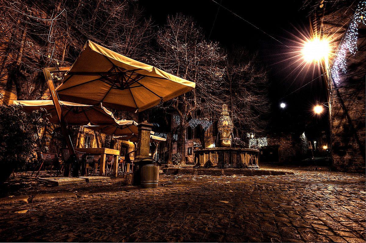 Viterbo: Piazza della morte...