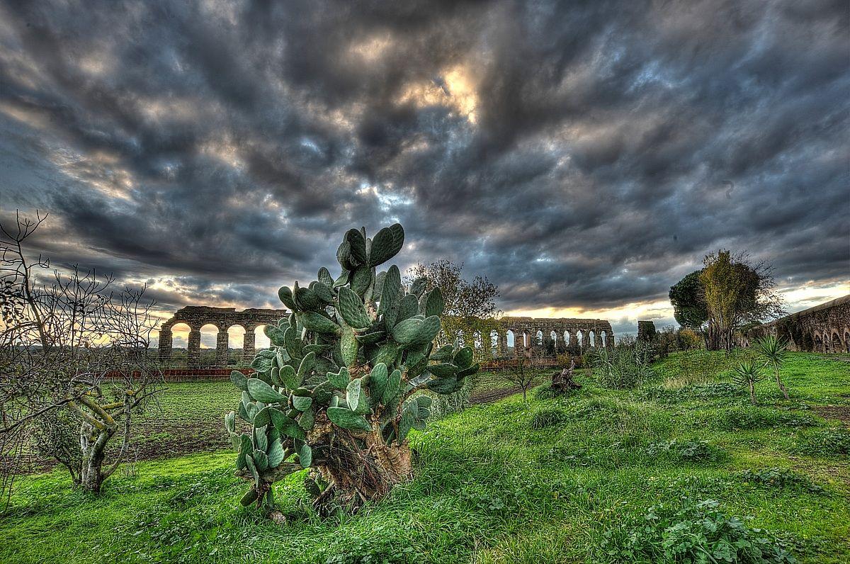 Roma: Parco degli acquedotti...