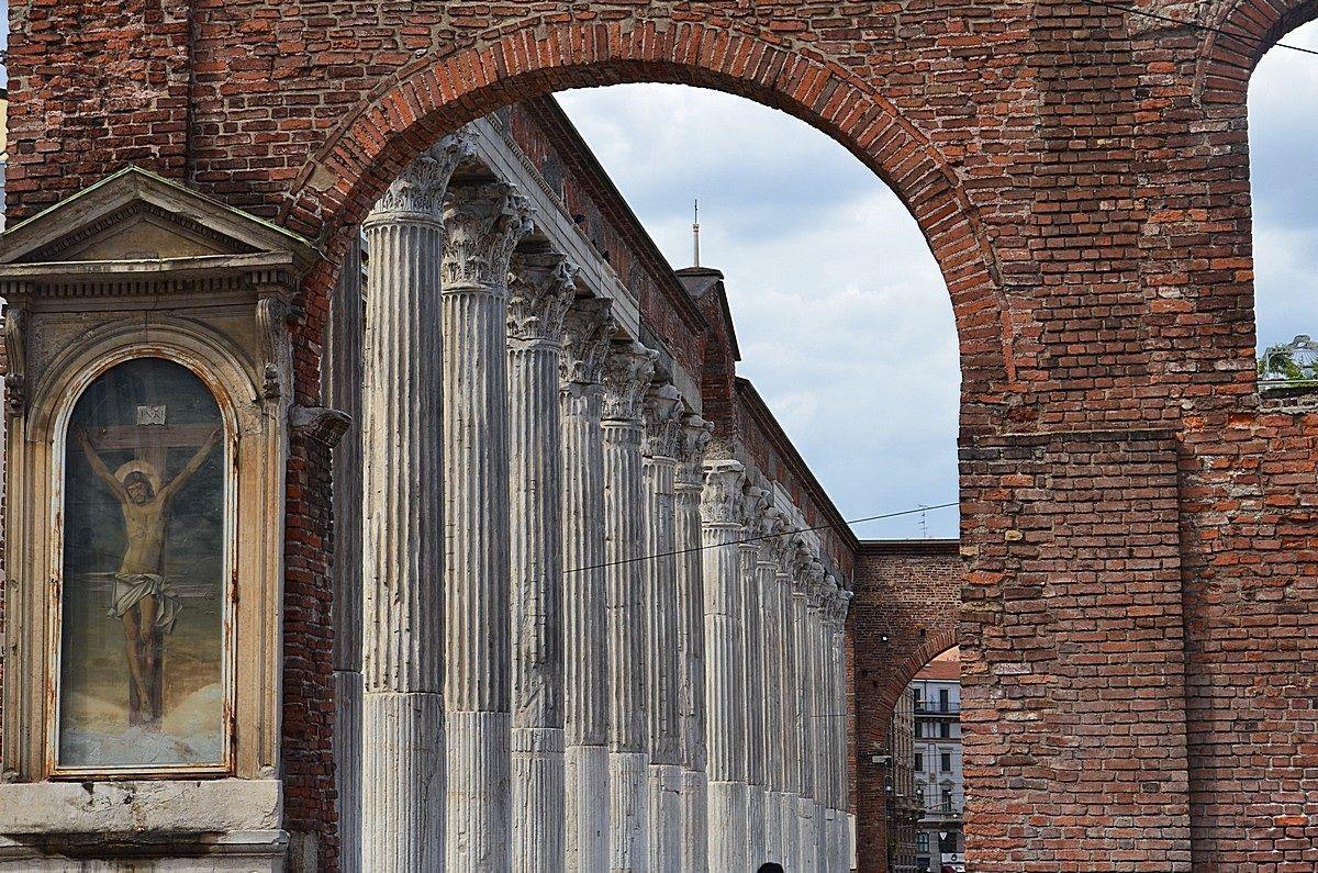 Milan - The Columns of San Lorenzo...