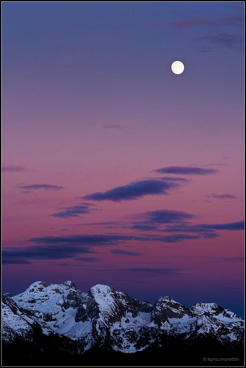 Winter twilight...